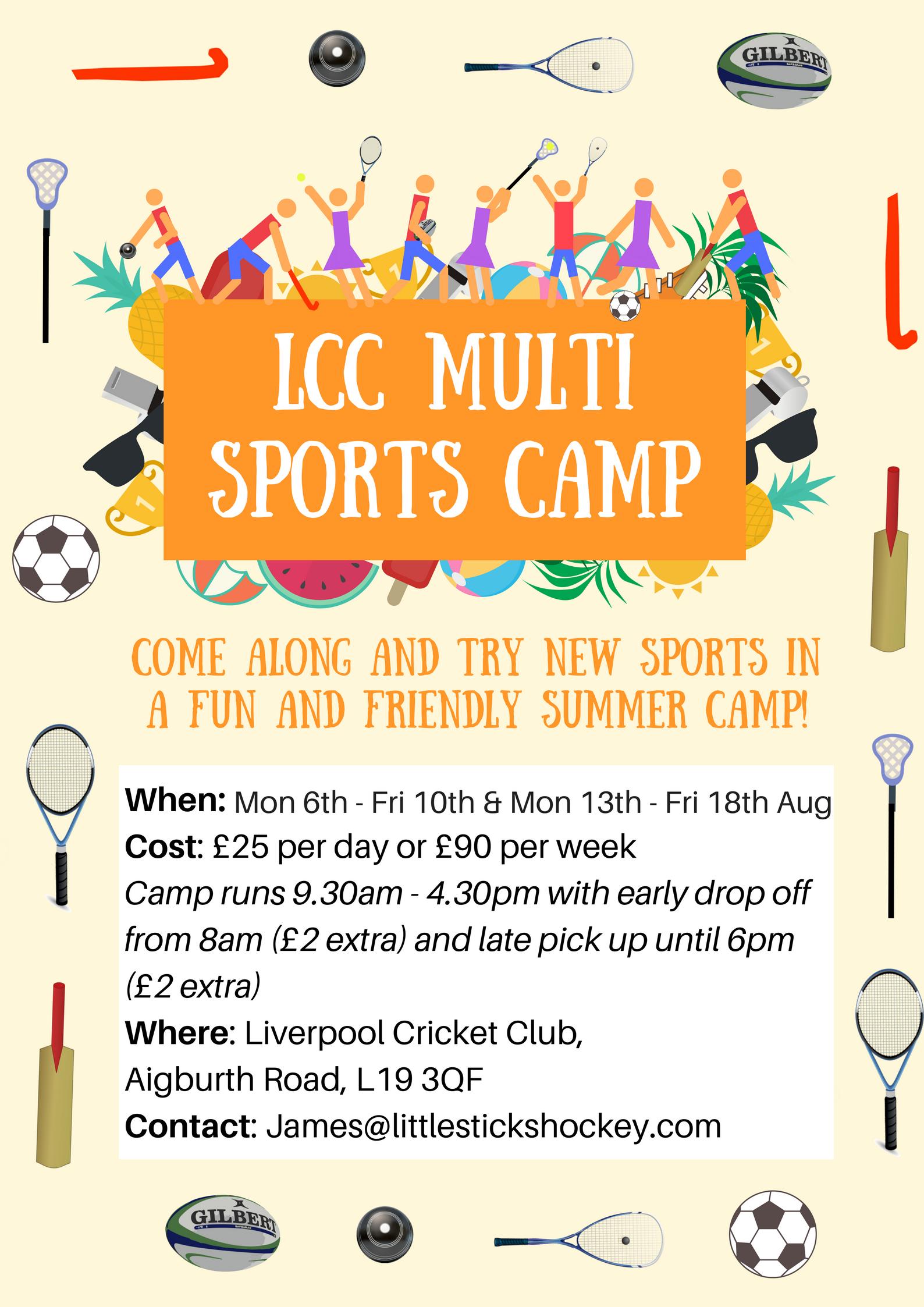 Multi-Sports Camp