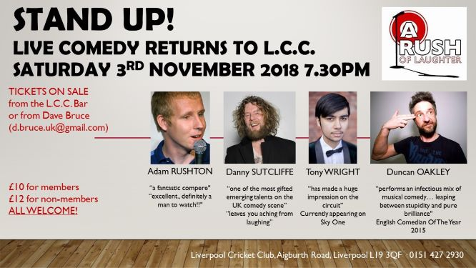 Stand Up! Live Comedy