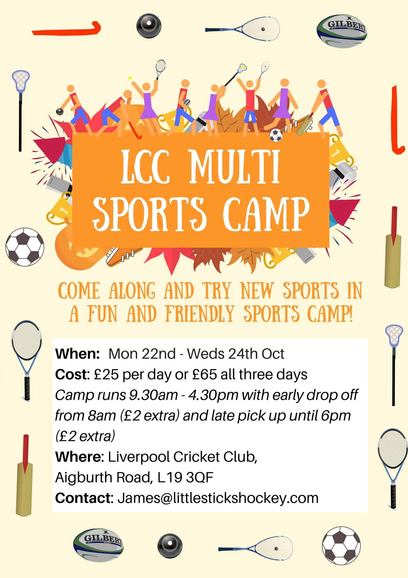 October Half-Term Multi Sports Camp
