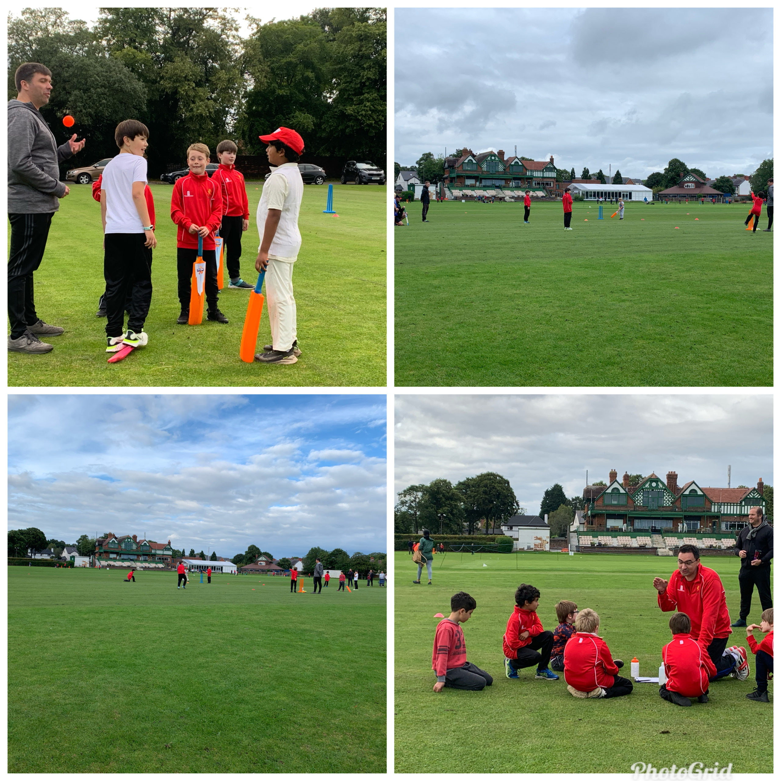 Under 9s first matches of the season